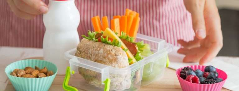 healthy packed lunch for kids