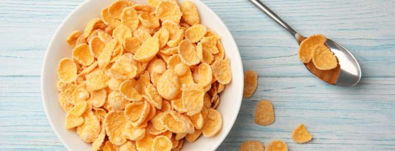 eat a bowl of cereal after being sick