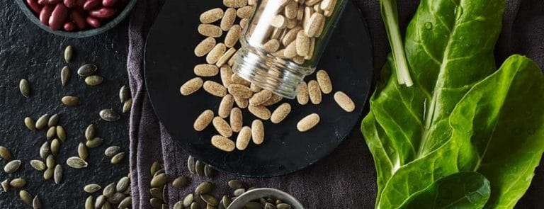 Food sources of iron and supplements