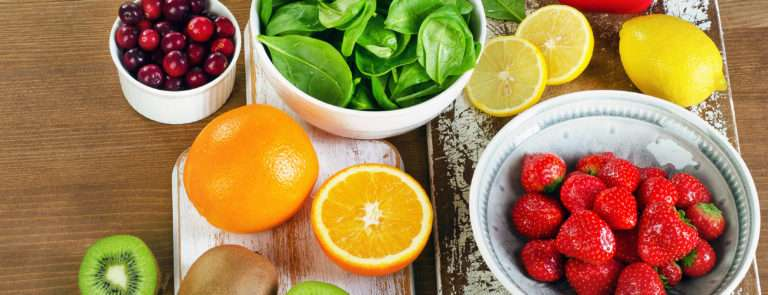 foods and fruits containing vitamin C