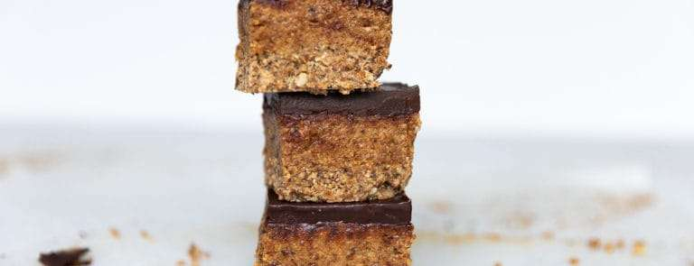 Coconut and Almond Butter Slices