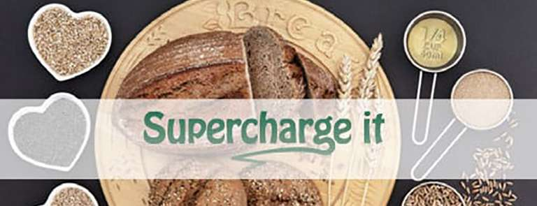 Supercharge it seeded whole-grain loaf