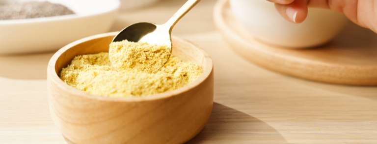 bowl of nutritional yeast