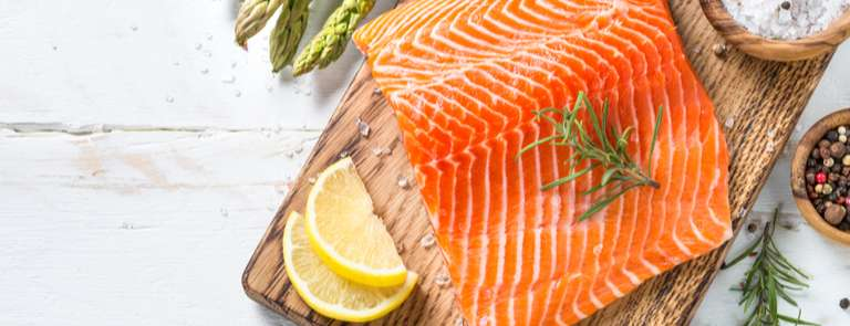 salmon fillet uncooked