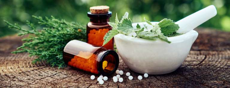 homeopathic herbal medicine